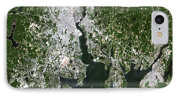 Satellite View Of The Pawtucket Phone Case by Stocktrek Images