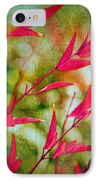 Scarlet Phone Case by Judi Bagwell