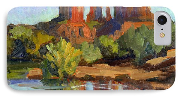 Sedona Cathedral Rock IPhone Case by Diane McClary