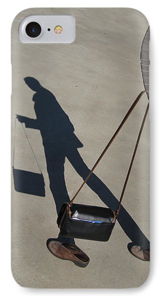 Shadowing Me IPhone Case by Nikki Marie Smith