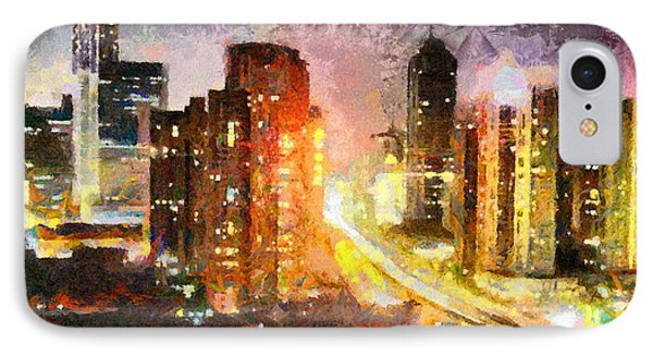 Shanghai IPhone Case by Anthony Caruso