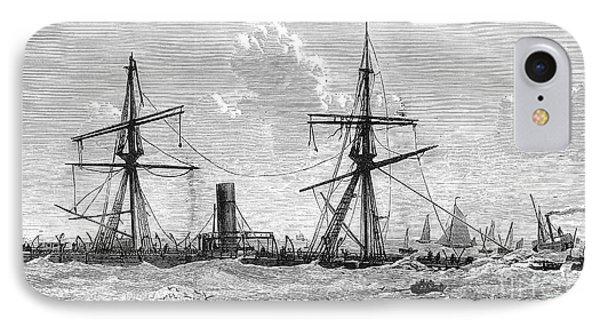 Shipwrecks, 1875 IPhone Case by Granger