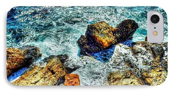 Shores Of The Aegean Phone Case by Michael Garyet