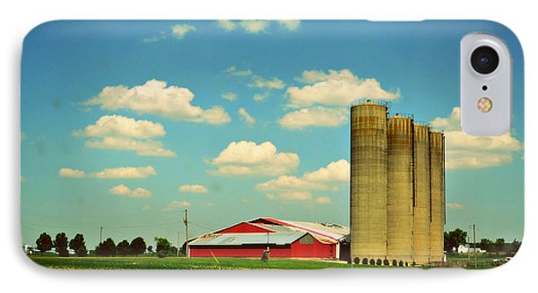 Silos IPhone Case by Paulette B Wright