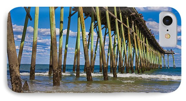 Simply Pier IPhone Case by Betsy Knapp