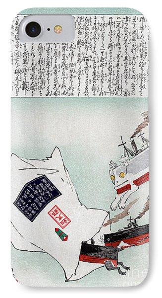Sino-japanese War, 1895 IPhone Case by Granger