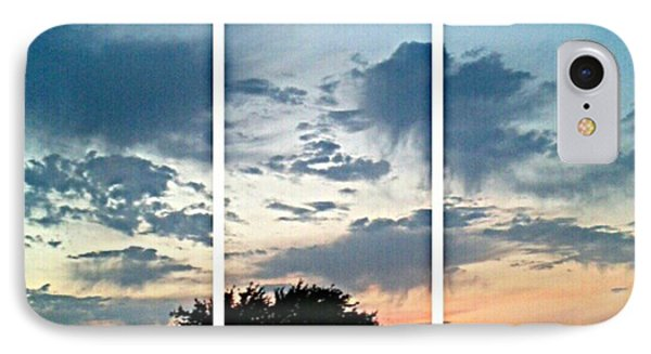 #sky #sunset #clouds #andrography Phone Case by Kel Hill