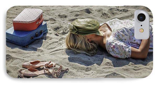 Sleeping Beauty Phone Case by Joana Kruse