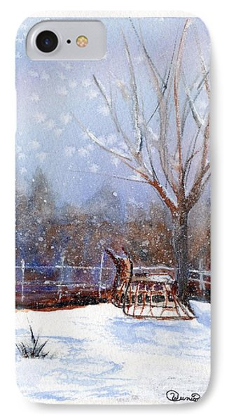 Sleigh Ride Phone Case by Wendy Cunico