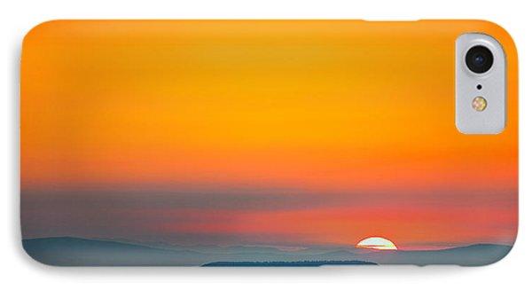 Smokie Sunrise Phone Case by Steven Llorca