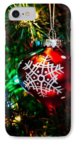 Snowflake Ornament Phone Case by Christopher Holmes