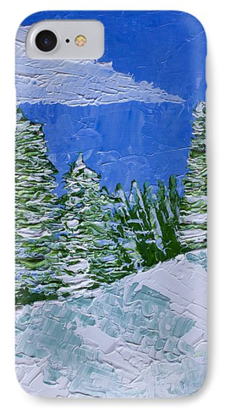 Snowy Pines Phone Case by Heidi Smith