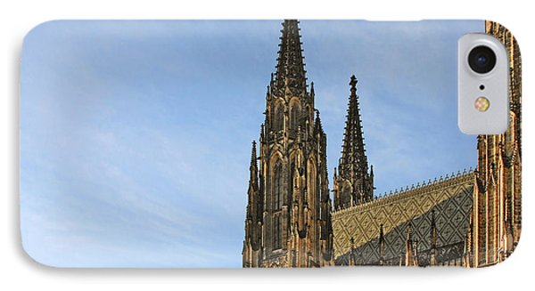Soaring Spires Saint Vitus' Cathedral Prague Phone Case by Christine Till