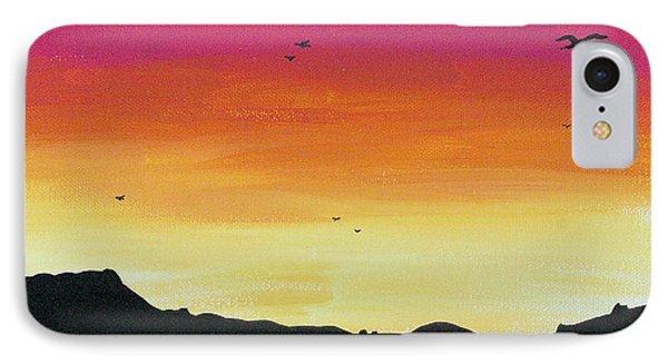 Soaring Sunset Phone Case by Jera Sky