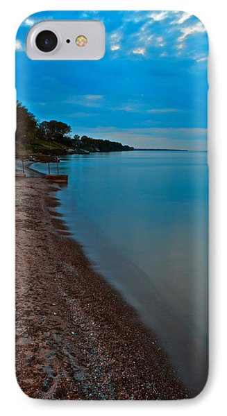 Soothing Shoreline Phone Case by Frozen in Time Fine Art Photography