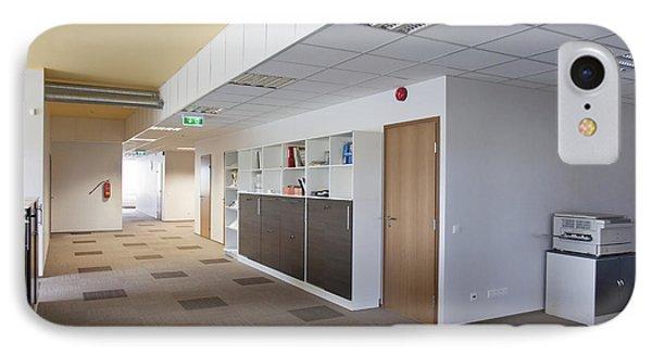 Spacious Office Hallway Phone Case by Jaak Nilson