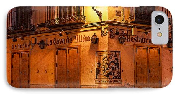 Spanish Taberna Phone Case by John Greim