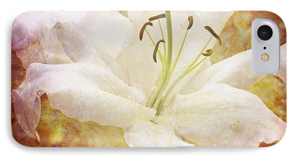 Sparkling Lily Phone Case by Clare Bambers