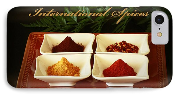 Spices From Around The World Phone Case by Inspired Nature Photography Fine Art Photography