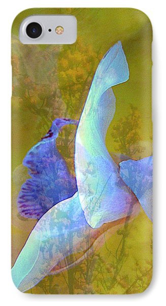 Spread To The Wind Phone Case by Shirley Sirois