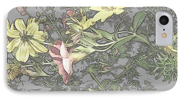Spring Blossoms In Abstract Phone Case by Kim Galluzzo Wozniak