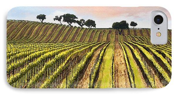 Spring Vineyard Phone Case by Sharon Foster