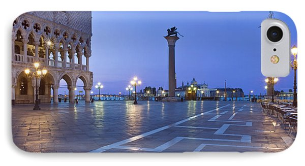 St. Marks Square Piazza San Marco IPhone Case by Rob Tilley