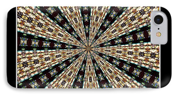 Stained Glass Kaleidoscope 39 Phone Case by Rose Santuci-Sofranko