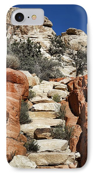 Staircase Stones Phone Case by Kelley King