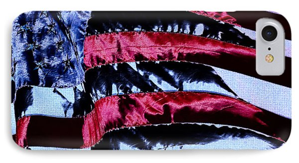 Stars And Stripes IPhone Case by David Patterson