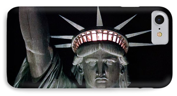 Statue Of Liberty Phone Case by David Pringle