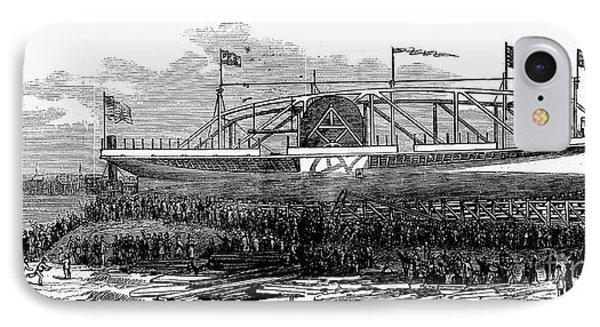 Steamship Launch, 1876 Phone Case by Granger