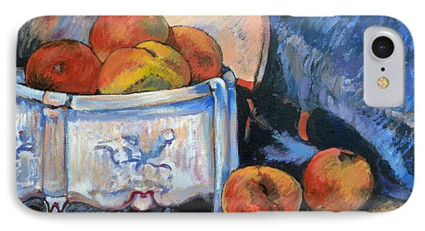 Still Life Peaches Phone Case by Tom Roderick