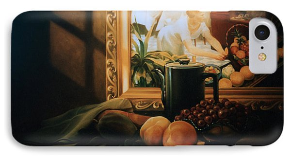 Still Life With Hopper IPhone Case by Patrick Anthony Pierson