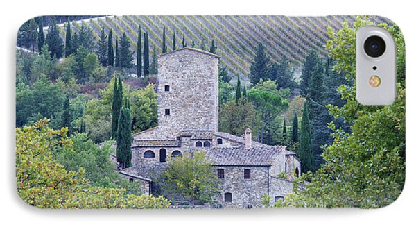 Stone Farmhouse Near Montefioralle Phone Case by Jeremy Woodhouse