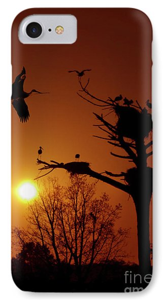Storks Phone Case by Carlos Caetano