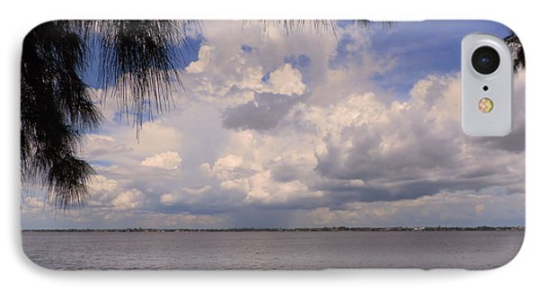Storm Across The River Phone Case by Rosalie Scanlon