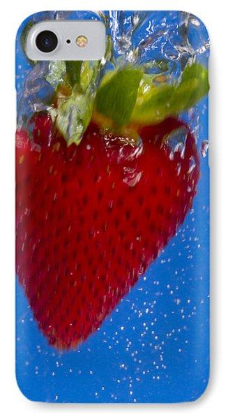 Strawberry Soda Dunk 7 Phone Case by John Brueske