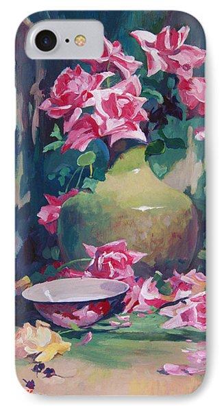 Summer Rose Arrangement IPhone Case by David Lloyd Glover