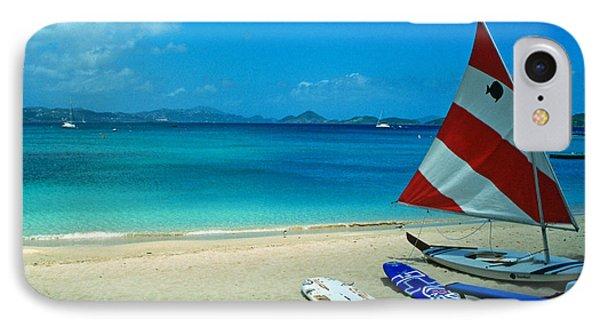 Sunfish On The Beach Phone Case by Kathy Yates