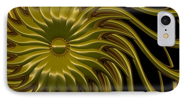 Sunflower IPhone Case by Richard Rizzo