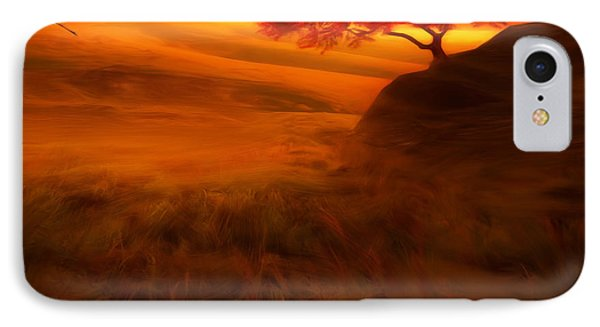 Sunset Duet IPhone 7 Case by Lourry Legarde
