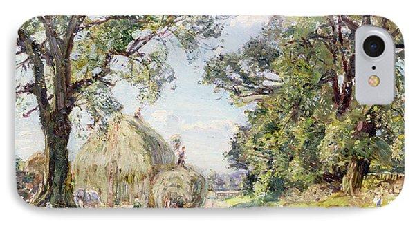 Surrey Landscape  Phone Case by Edmund George Warren