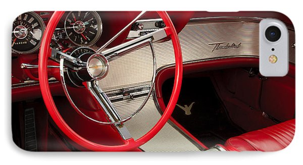 T-bird Interior Phone Case by Dennis Hedberg