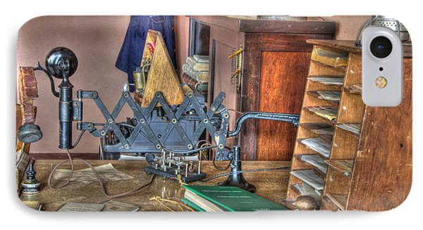 Telegraph Office At Kelso Phone Case by Bob Christopher