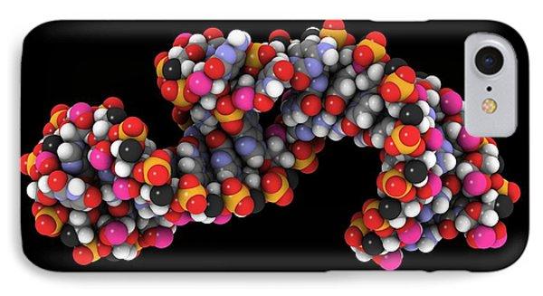 Telomerase Molecule, Artwork Phone Case by Laguna Design