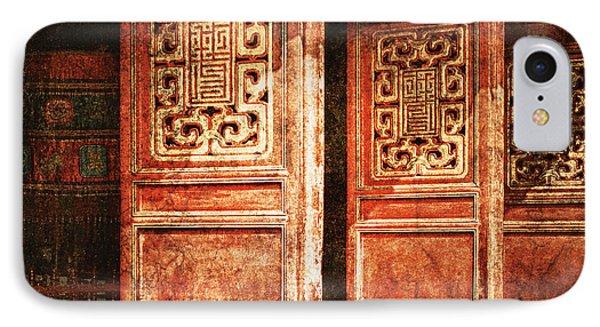 Temple Door Phone Case by Skip Nall