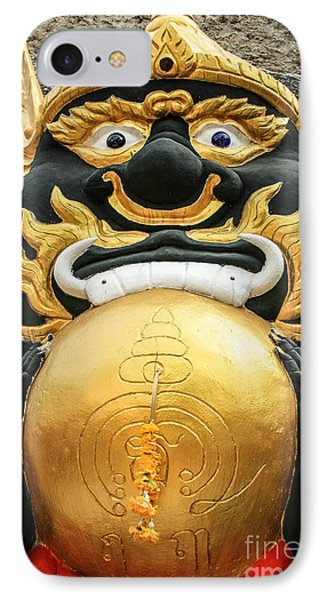 Temple Statue Phone Case by Adrian Evans
