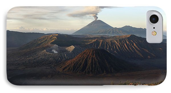 Tengger Caldera With Erupting Mount Phone Case by Martin Rietze