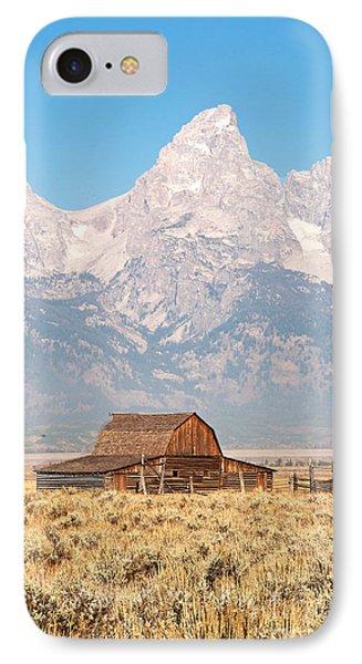 Teton Mormon Barn Phone Case by Bob and Nancy Kendrick